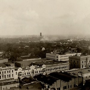 Stockton - Views - 1900 - 1920: Looking southeast from business section
