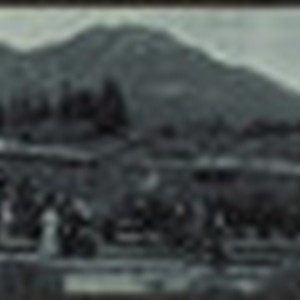 Mt. Tamalpais and Muir Woods railway panoramic photograph, undated