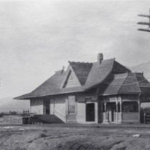 ATSF Railroad Depot at Monrovia