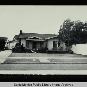 610 Seventh Street (Lot 26, Block D) Santa Monica, Calif., owned by ...