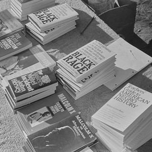 Books for sale at Free Huey Rally, Bobby Hutton Memorial Park, #97 ...