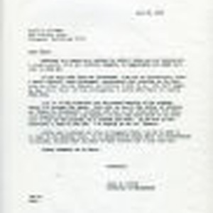 Correspondence from James C. Worthy to Peter Drucker, 1978-07-26