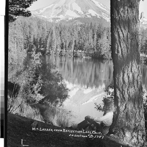 Mt. Lassen, From Reflection Lake, Calif