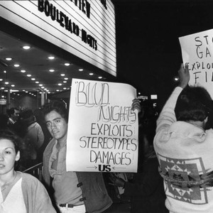 """Boulevard Nights"" premiere protest"