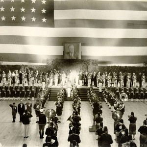 [Roosevelt's Birthday Ball at the San Francisco Civic Auditorium]