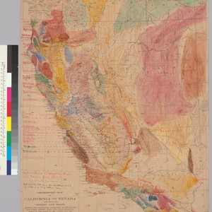 Geomorphic map of California and Nevada with portions of Oregon and Idaho ...