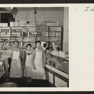 Fred Toguri, owner, June Toguri, his sister, who helps him in the ...