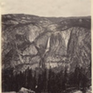The Yosemite Fall, from the Sentinel Dome
