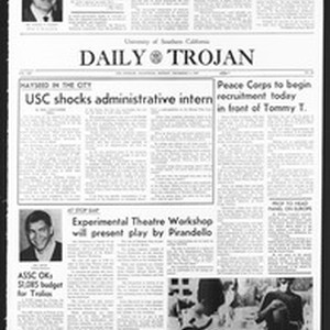 Daily Trojan, Vol. 59, No. 50, December 04, 1967