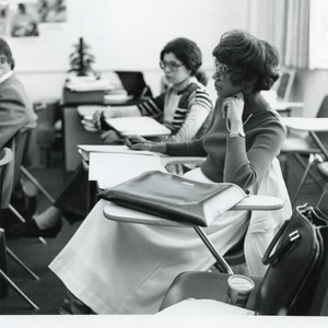 LA campus students, late 1970s