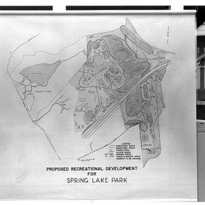 Proposed recreational development for Spring Lake Park