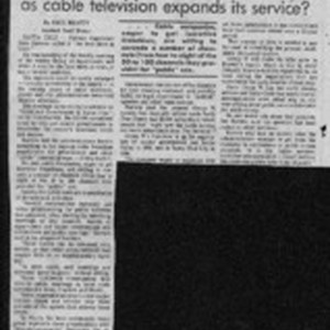 Are supervisors heading for stardom as cable television expands its service?