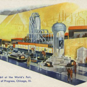 Gulf Exhibit at the World's Fair, A Century of Progress, Chicago, Ill