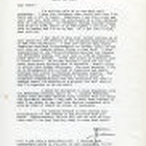 Correspondence from James C. Worthy to Peter Drucker, 1983-03-20