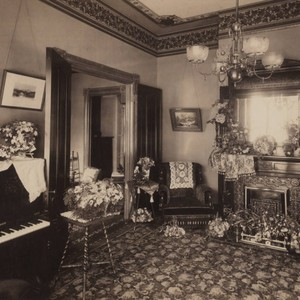Richards' family parlor