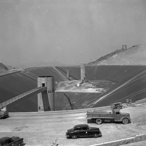 Eagle Rock Reservoir construction