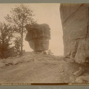 Balance Rock. Garden of the Gods, Col. [Colorado]. 4903. [Photograph by Isaiah ...
