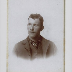 Portrait of George Albert Titus, Sacramento, California, 1898