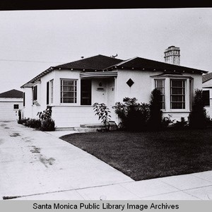Douglas Aircraft Company employee housing, a Sunset Park home in Santa Monica ...