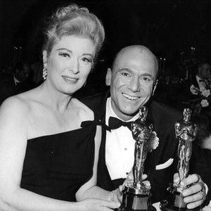 Greer Garson and Johnny Green