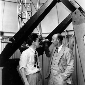 H. Page Bailey and Frank Lindsay with San Bernardino Jr. College Observatory ...