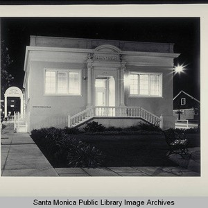 Ocean Park Branch Library, 2601 Main Street, Santa Monica, Calif., opened in ...