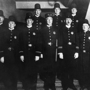 Police group photo