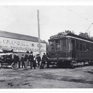 First Run of the Pacific Electric Train