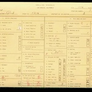 WPA household census for 1316 WILSHIRE BLVD, Los Angeles