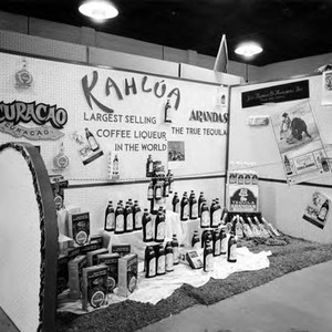 Kahlua stand at the Latin American Trade Mart