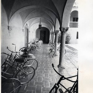 Bicycles in Star Court, Scripps College