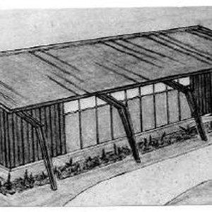 Sacramento Municipal Utility District substation architectural drawing