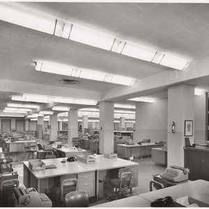 [Interior general view 3rd floor offices Title Insurance and Trust Company, 433 ...