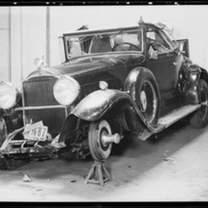 Packard - claim #67809, Southern California, 1932