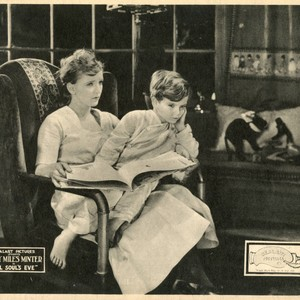 "Mary Miles Minter and Micky Moore in ""All Soul's Eve"" (1921)"