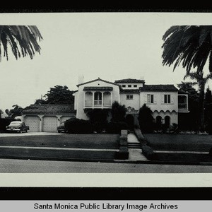 416 Marguerita Avenue (Lot 2, Block F) Santa Monica, Calif., owned by ...