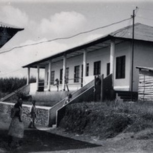 Health centre of Ndoungue, in Cameroon