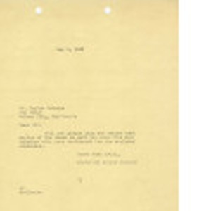 Letter from Dominguez Estate Company to Mr. Hagime Sakawye, May 9, 1939