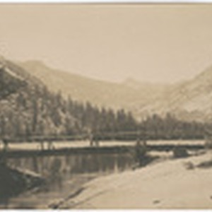 [Unidentified lake in Yosemite]