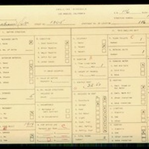 WPA household census for 1305 INGRAHAM ST, Los Angeles
