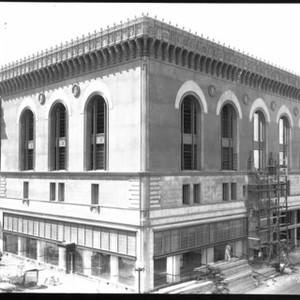 Buildings Repair and Reconstruction - Stockton: Stages of construction of Pacific Telephone ...