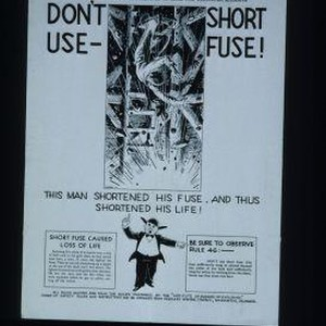 Don't use short fuse! This man shortened his fuse, and thus shortened ...