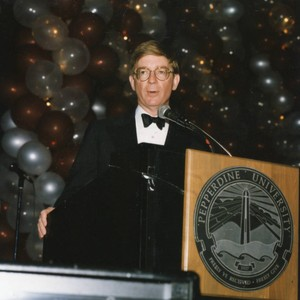 Associates Dinner--Mr. George Will at the Podium (Color)