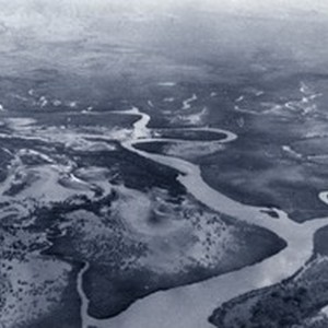 Aerial view on the plain of Tontouta river