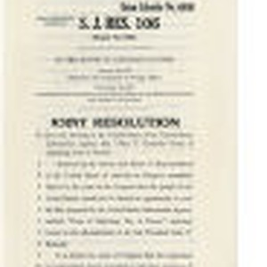 Joint Resolution To allow the showing in the United States of Years ...