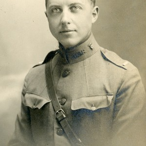 Malcolm Goddard in uniform