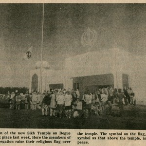 Dedication of Sikh Temple in Yuba City