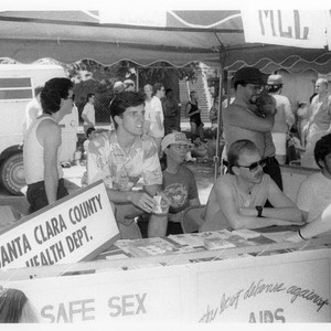 Safe sex education booth