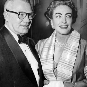 Joan Crawford and Al Steele at premiere