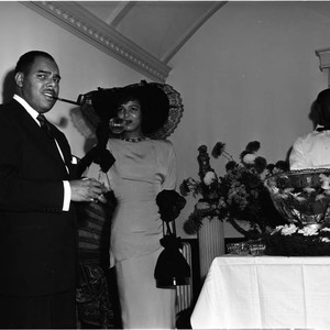 Watkins Wedding reception, Los Angeles, ca. 1960